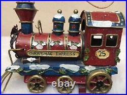 Christmas Express Engine Stocking Holder Train Christmas Holiday