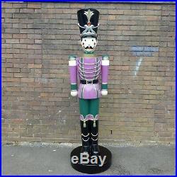 Christmas Toy Soldier 6.5ft Figure Nutcracker Indoor Outdoor Decoration Prop