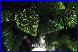 Christmas Tree Luxury Traditional Green 4 sizes OLIVE PINE with cones Bushy