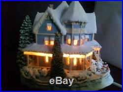 Christmas Vintage Ornament Beautiful Kinkade Light