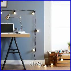 ConnectPro 5-100m Connectable Outdoor Festoon LED Lights Globe Bulb Christmas