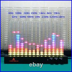 Creative DIY 14 Bands Spectrum Analyzer Music Column Light LED Indicateor Party