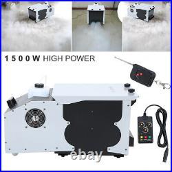 DMX Low Profile Hazer Haze Smoke Fog Machine Theater Stage Effect Party 1500W US