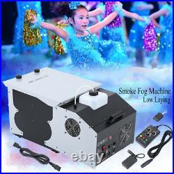 DMX Low Profile Hazer Haze Smoke Fog Machine Theater Stage Effect Party DJ 1500W