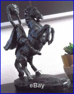 DO NOT BUY! Sleepy Hollow Headless Horseman Ichabod Crane Statue Prop Halloween