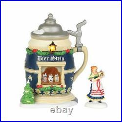 Department 56 Alpine Village Christmas Market The Bier Stein Booth 4035564