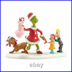 Department 56 Grinch Christmas Village Who's Been A Good Who 4038648 Retired