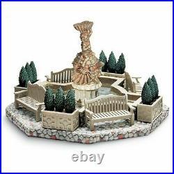 Department 56 Seasons Bay Garden Fountain 56.53330 Set of 9 Summer Village