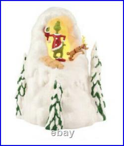 Department 56 The Grinch Max Mt. Crumpit Villages Christmas Dr Seuss Lighted