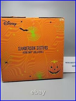 Disney Hocus Pocus Sanderson Sisters 4.5ft Air Blown Halloween Inflatable
