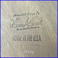 Easter Egg Bunny BONNIE BARRETT Boardwalk Originals Hand Painted 28 Signed DS13