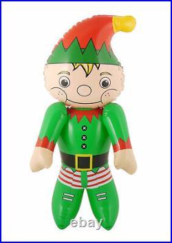 Elf Inflatable Christmas Santa Helper Xmas Blow Up Home Garden Party Decoration
