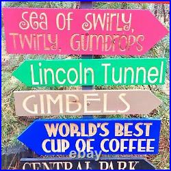 Elf Movie Christmas Directional Signs Choose each individual sign or set