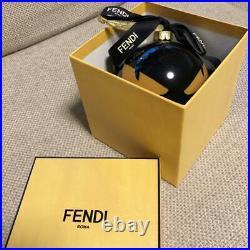 FENDI Christmas Ornament Monster in Box Promo Gift New