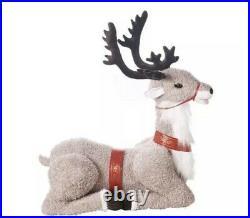 GEMMY Animated Talking Christmas Reindeer 4.5 feet Height Motion Detector