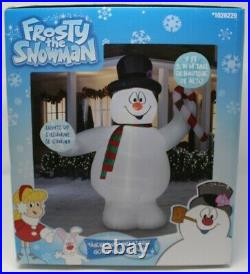 Gemmy 9 ft. Frosty The Snowman with Candy Cane Christmas Airblown Inflatable