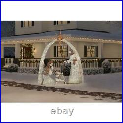 Giant Nativity Scene 10 ft. 440-LED Lights Life Size Weather Resistant Plug-in