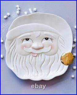 Glitterville Papa Noel Vintage Cookie Platter 14 Anthropologie