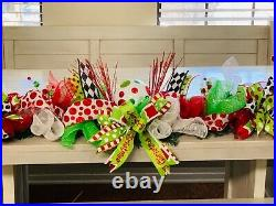 Grinch Whoville Theme Garland for Mantle, Archway, or Front Door
