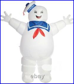 HALLOWEEN 8 FT GHOSTBUSTERS STAY PUFT PUMPKIN GEMMY Airblown Inflatable