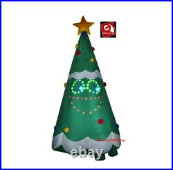 HUGE LightSYNC Singing CHRISTMAS TREE Mouth Moves 11FT. AIRBLOWN YARD Inflatable