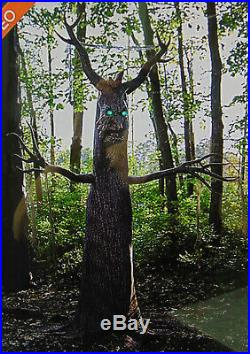 Halloween 6.5 ft Animated Deadly Roots Talking TREE BN Watch Video