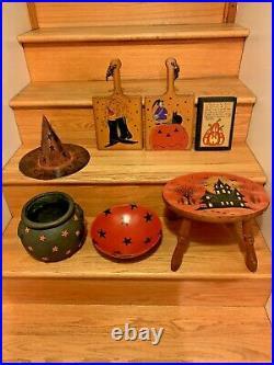 Halloween Decorations Lot Of 7