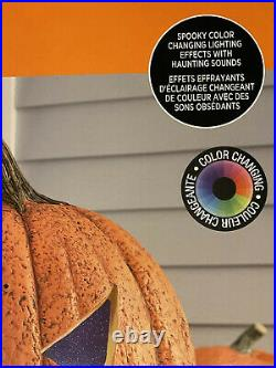 Halloween LOT- New 6 OUTDOOR/INDOOR Animated Spider Icicle Lights Pumpkin Decor