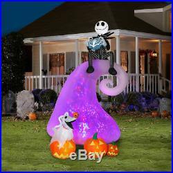 Halloween Nightmare Before Christmas Skellington MOUNTAIN AIRBLOWN ZERO