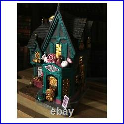 Harry Potter Inspired Christmas'Lemax' Village Scottish Sweet Shop