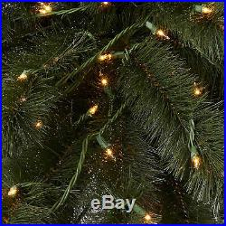 Home Heritage 6 Foot Double Pre Lit Palm Trees with 255 Incandescent Lights