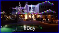 Homebrite 16'FT White LED Light Christmas Tree Remote 192 Indoor Outdoor 61508
