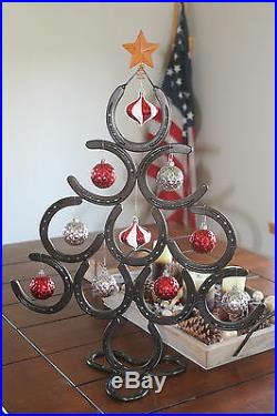 Horseshoe Christmas tree Lucky