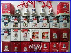 Hutschenreuther Weihnachtsglocken Porzellan 1978 bis 2020 EINZELVERKAUF