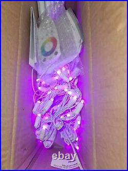 Illuminations 6 Ft. 130-Light RGB LED Multi-Color Color Blast Remote Controlled