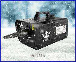 KYNG Snow Machine 650W Wired Remote Snow Maker Snowflake Maker for Holidays NEW
