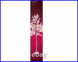 Kaemingk 180cm Micro LED Flower Tree Pink With Warm White LEDs xmas Christmas