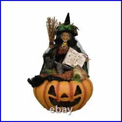 Karen Didion Originals Lighted Edith Witch Figurine, 31 Inches