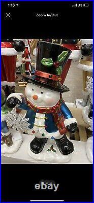 Kringle express life size snowman