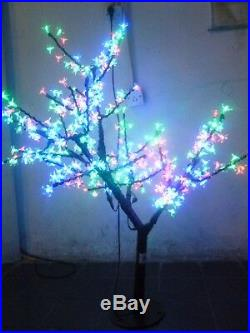 LED Cherry Blossom Tree Christmas Light 264 LEDs 40 Height RGB Changing Color