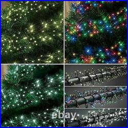 LED Cluster Lights String Fairy Indoor Outdoor Christmas Xmas Tree House Window
