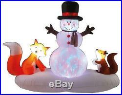 LED Inflatable Woodland Scene Xmas Decoration Outdoor Christmas Decoration