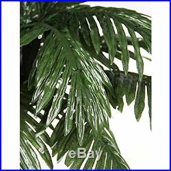 LED Lighted Artificial Hawaii Palm Tree Lamp Home Garden Party Decor, 5 ft New