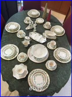LENOX Christmas HOLIDAY DEMENSION Dishes LARGE SET 105 pieces! Retail $3,600