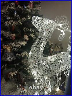 Large Christmas Light Up Reindeer