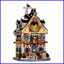 Lemax Caddington Christmas Village Noah's Ark Toys Lighted Building 65130