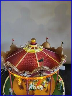 Lemax Santa Carousel