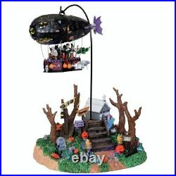 Lemax Spooky Town Dreaded Zeppelin Animated Halloween Village Accessory 04174