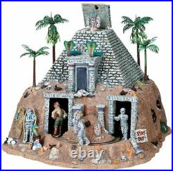 Lemax Spooky Town Haunted Pyramid Animated Halloween Village Building 84770