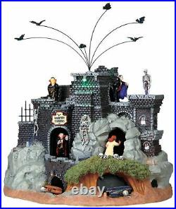 Lemax Spooky Town Vampire Caverns Animated Halloween Village Building 94961